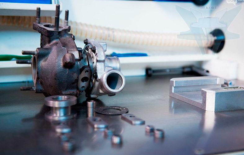 Принцип работы турбины на бензиновом и дизельном двигателе